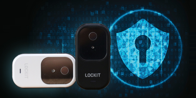 홍채 인식 USB LOCKIT