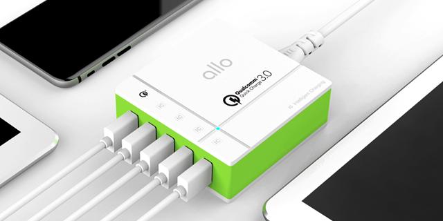 알로 멀티 충전기 QC3.0