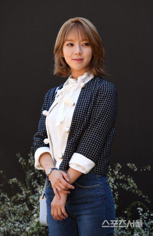[SS포토]문희준-소율의 결혼식 축하하는 AOA 초아