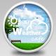 [무료] 오픈웨더 (Open Weather), 위치상황조건에 따라 변동되는 날씨 UI