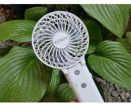 휴대용 미니선풍기, 엑타코 핸디 선풍기로 시원하게 보내는 방법!