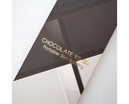 얇아서 휴대가 편한 픽스 초콜릿 보조배터리