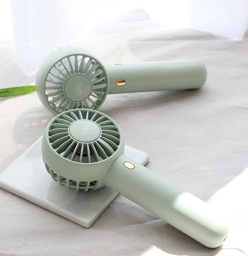 알로코리아 휴대용 미니 선풍기 듀얼팬 F2
