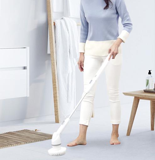 오엘라 네오스핀 무선 욕실 청소기 OBC-AW09WH