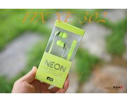 FIX 네온 이어폰 XE-302 - 음질과 디자인 모두를 생각하는 가성비 좋은 이어폰 픽스 네온 XE-302 이어폰!!