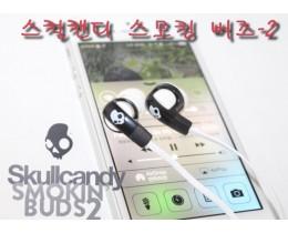 [음질좋은 이어폰 추천]스컬캔디 스모킹 버즈-2