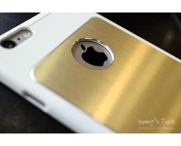 iPhone 6 Plus 슬림팩케이스 메탈스킨 화이트 장착후기