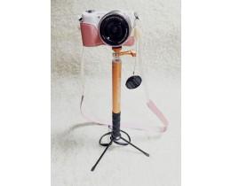 휴대용 셀카봉과 카메라 삼각대와 합체한 픽스 셀피스틱 셀카봉