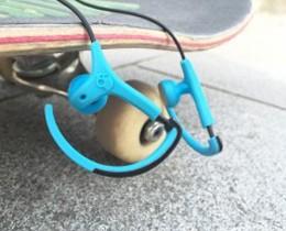 운동시 편하게 착용가능한 스포츠형 스컬캔디 아웃도어 이어폰 찹스 버드 리뷰