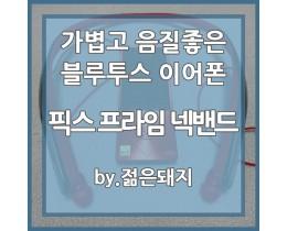 가볍고 음질좋은 블루투스 이어폰 추천-픽스 프라임 넥밴드