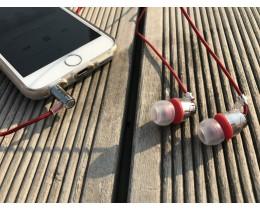 음질좋은 이어폰 커널형 단선방지 픽스 하이파이