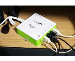 USB멀티충전기 추천 - 알로 UC401QC30 5포트 USB 퀵차지